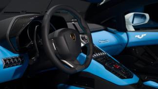 Lamborghini Aventador Nazionale interior