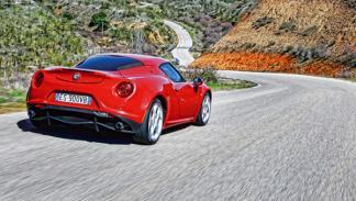 Alfa Romeo 4C trasera
