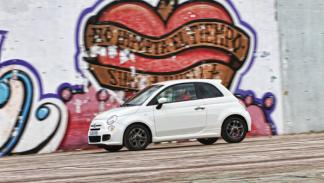 Lateral del Fiat 500
