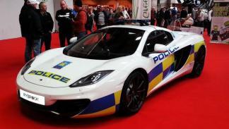 McLaren policía inglesa