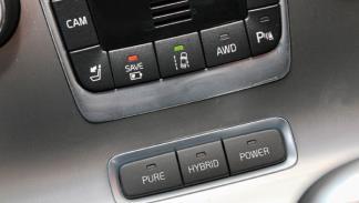 Volvo V60 Plug-in Hybrid botones