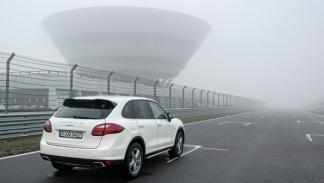 Recoger Porsche Cayenne fábrica Leipzig