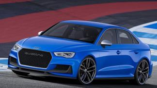 Audi A3 Clubsport quattro Concept tres cuartos delantero
