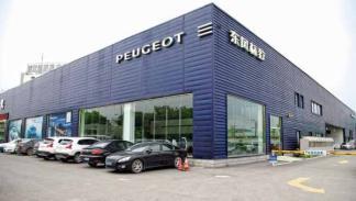 concesionario Peugeot China