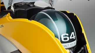 Bultaco Rapitán cofre casco