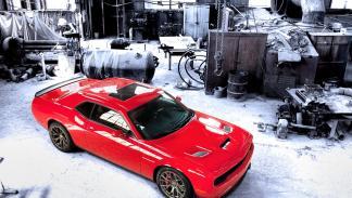 Diseño del Dodge Challenger SRT 2015