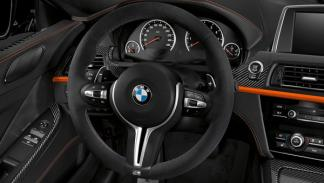 BMW M6 Marco Wittmann Fire Orange interior