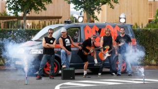 Ganadores del concurso de la FurgoVolkswagen 2014