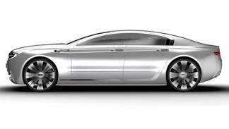 Qoros 9 Sedan Concept lateral