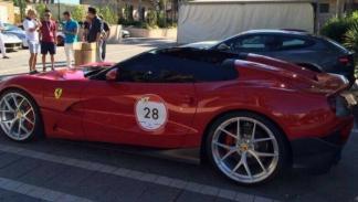 Ferrari F12 TRS lateral