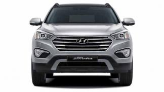 hyundai grand santa fe frontal