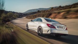 El Mercedes CLS 63 AMG Coupé alcanza los 100 km/h en 3,6 segundos