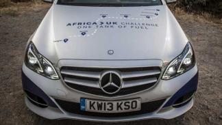 Mercedes Clase E en África