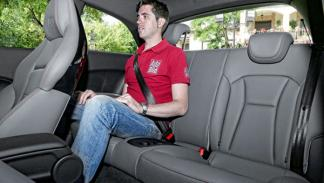 Audi S1 plazas traseras
