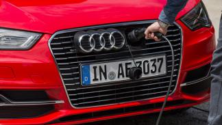 Toma de carga del Audi A3 Sportback e-tron