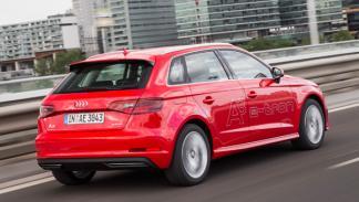 Trasera del Audi A3 Sportback e-tron