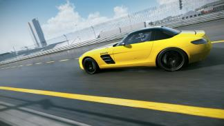 Supercoches en Project CARS: Mercedes SLS