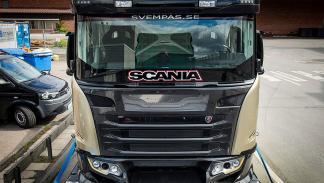 Scania Chimea delantera