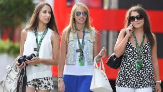 Fórmula 1: las chicas del GP Hungría 2014