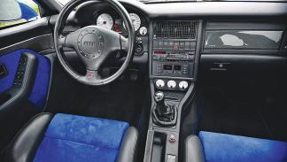 Interior del Audi RS 4