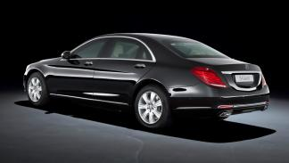 Mercedes S600 Guard - lateral trasero