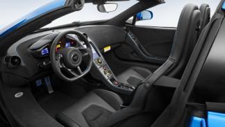 McLaren 650S Spider interior