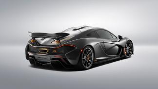 McLaren P1 vista trasera-lateral