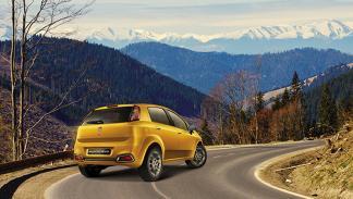 Fiat Punto Evo India trasera