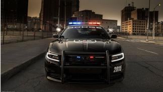 Dodge Charger Pursuit frontal