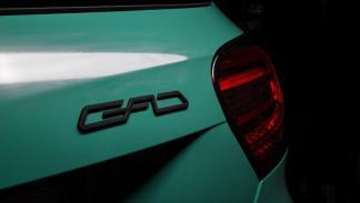 Mercedes A 45 AMG GAD Motors logo