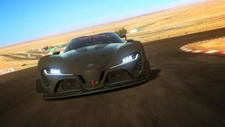 Toyota FT-1 Vision GT Concept delantera