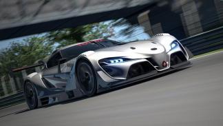 Toyota FT-1 Vision GT Concept gris
