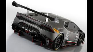 Lamborghini Huracan Super Trofeo - lateral trasero