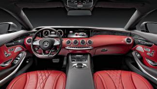 Mercedes S 500 Coupe interior