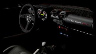 Interior del Hennessey Venom GT Spyder