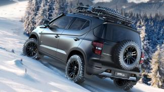 Chevrolet Niva Concept trasera