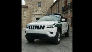 Jeep Grand Cherokee Guardia Civil morro