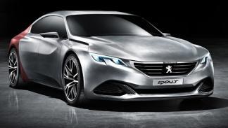 Concept Peugeot Exalt frontal
