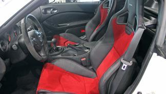 Nissan 370Z Nismo asientos
