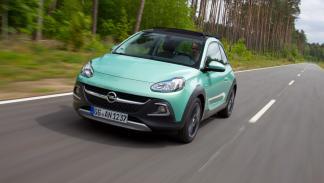 El Opel Adam Rocks será tiene la altura de su carrocería elevada en 15 mm