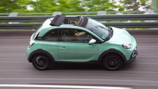 El Opel Adam Rocks se distingue rápidamente de sus hermanos de gama