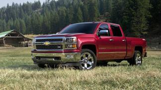 10 coches más vendidos Estados Unidos 2014 Chevrolet Silverado