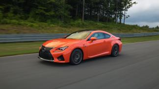 Lexus RC F dinámica