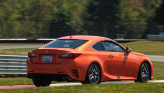 Lexus RC F  posterior