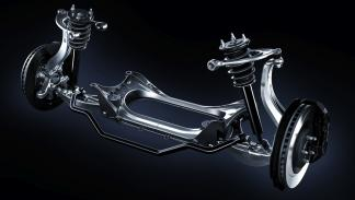 Lexus RC F eje delantero