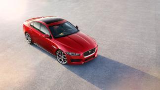 Jaguar XE cenital