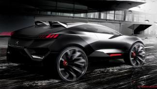 Concept Peugeot Quartz lateral