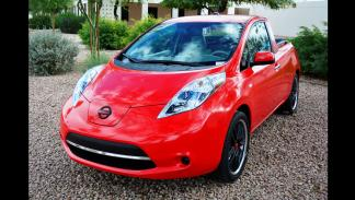 Nissan Leaf pick-up delantera