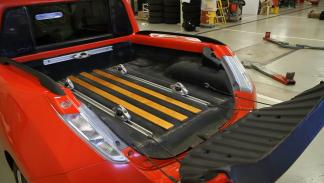 Nissan Leaf pick-up caja
