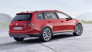 Volkswagen Golf Alltrack trasera